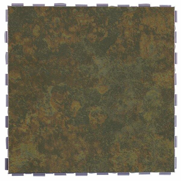 Classic Standard 12 x 12 Porcelain Field Tile in Moss by SnapStone