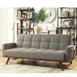 Weylyn Twin Or Smaller Tufted Back Convertible Sofa by Latitude Run SKU:EE177697 Reviews