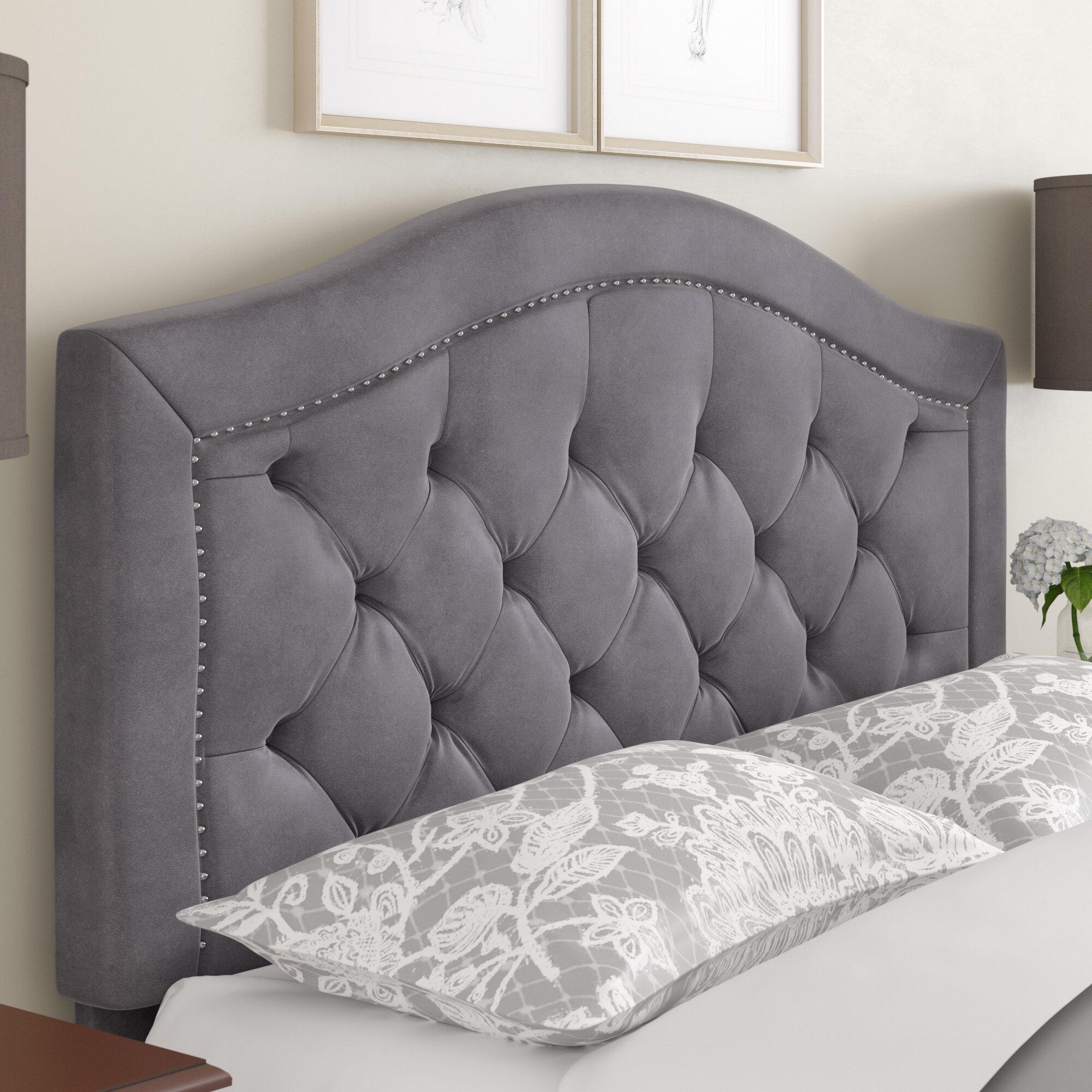 sale retailer 043a4 eacff Gossman Upholstered Panel Headboard