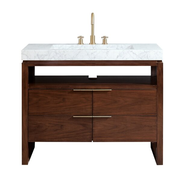 Hallmark 43 Single Bathroom Vanity Set by Ivy Bronx