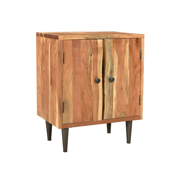 Abdiel Live Edge Nightstand by Foundry Select