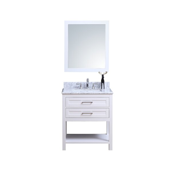 Cipriani 24 Single Bathroom Vanity Set by Winston Porter