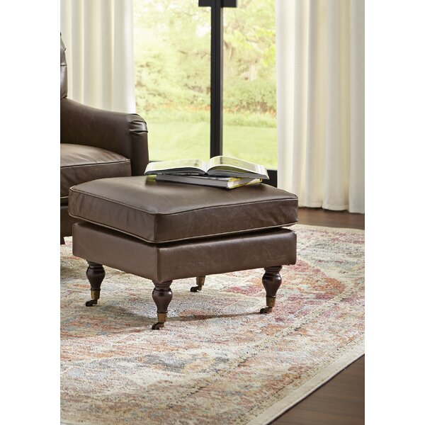 Gambrell Tufted Ottoman by Astoria Grand