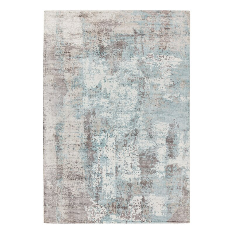 Midhurst Hand Tufted Blue Rug