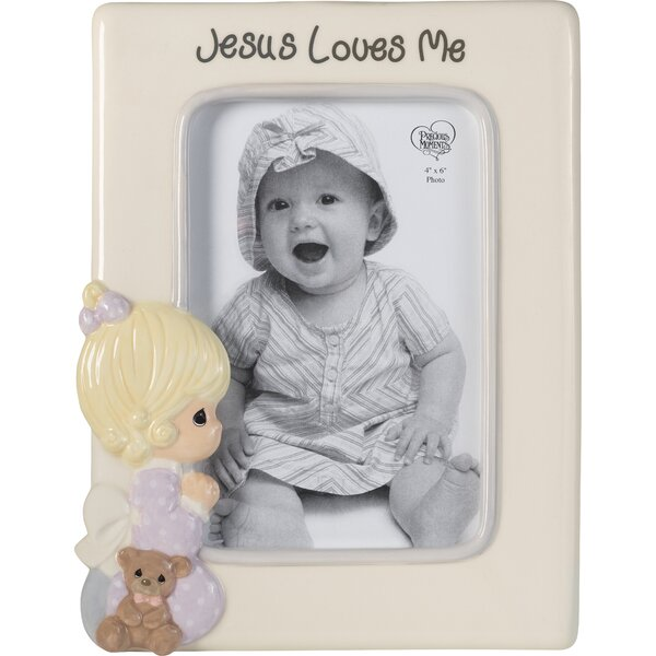 Praying Jesus Loves Me Picture Frame by Precious Moments