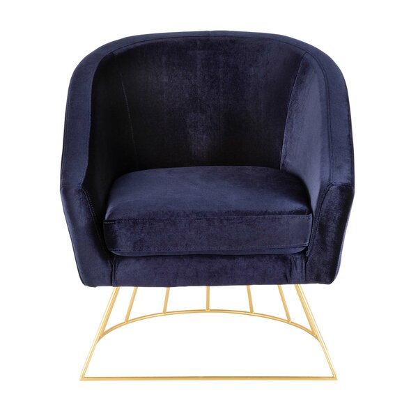 Campion 20-inch Barrel Chair by Everly Quinn Everly Quinn