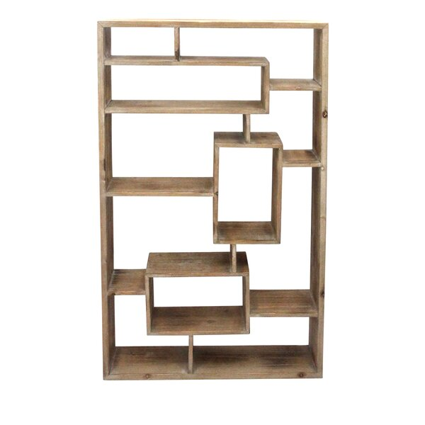 Divided Wood Wall Shelf by Donny Osmond Home