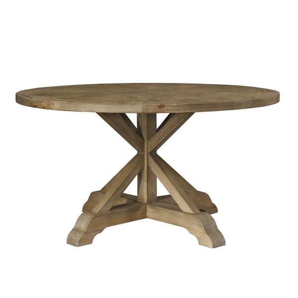Salvaged Wood Dining Table by Padmas Plantation