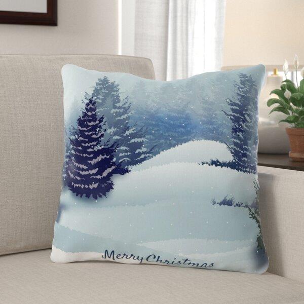 Jo Christmas Indoor/Outdoor Canvas Throw Pillow