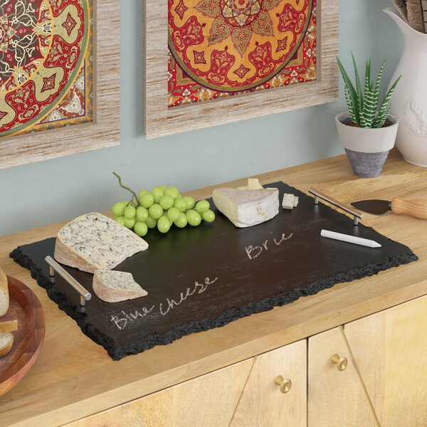 Leary Slate Cheese Board & Platter by Mint Pantry