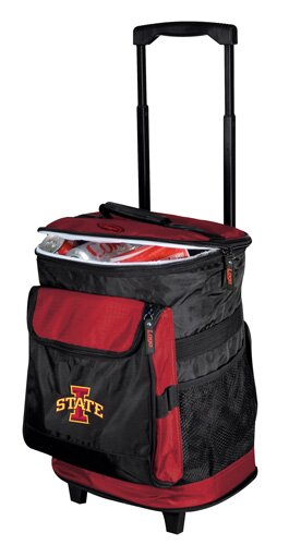 Collegiate Rolling Cooler - Iowa State by Logo Brands