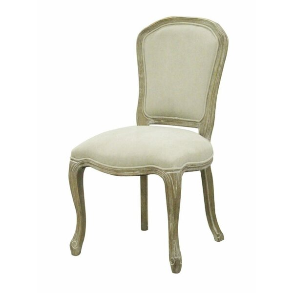 Abigale Upholstered Dining Chair (Set of 2) by One Allium Way