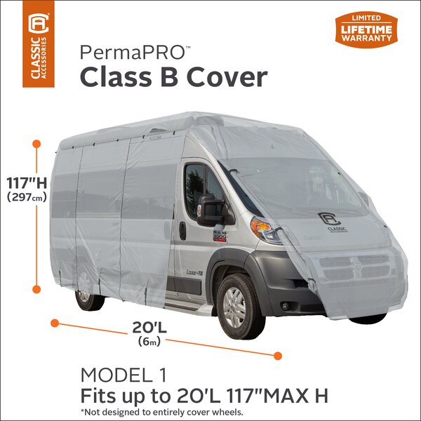 OverDrive PermaPRO RV Cover by Classic Accessories