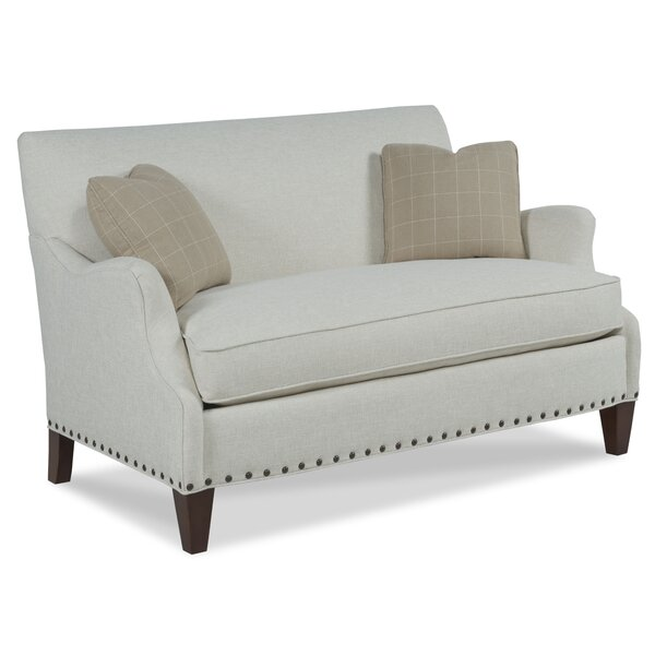Excellent Brands Leland Settee by Fairfield Chair by Fairfield Chair