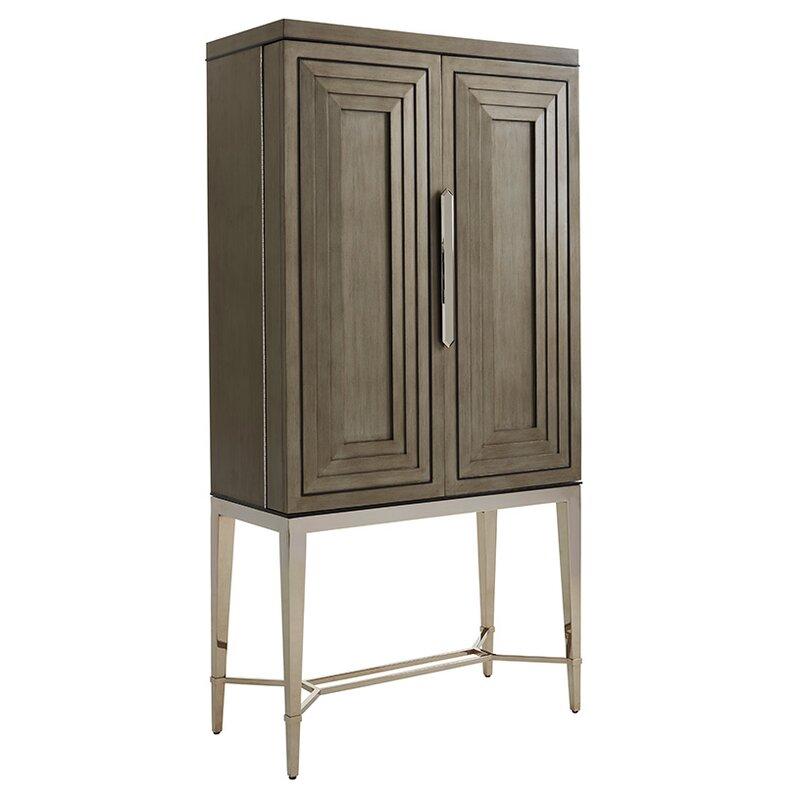 Lexington Ariana Cheval 2 Door Bar Cabinet Perigold
