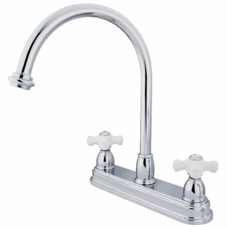 Touchless Double Handle Kitchen Faucet by Elements of Design