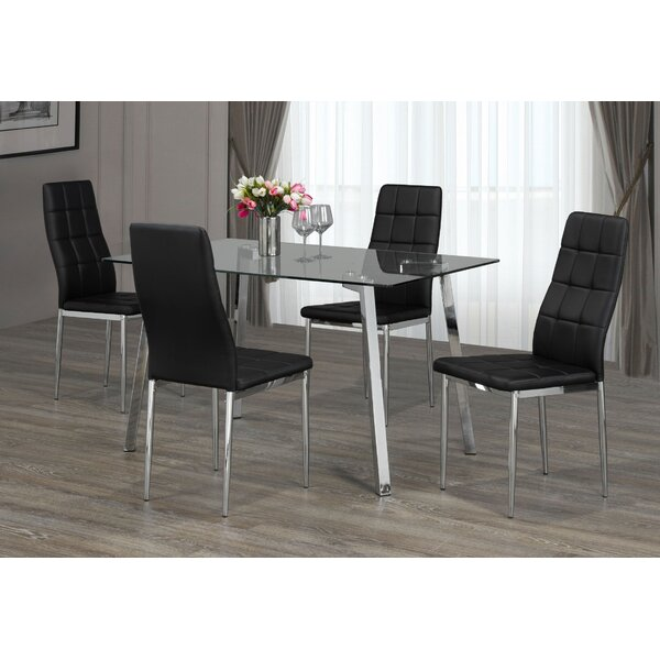 Adam 5 Piece Dining Set by Orren Ellis Orren Ellis