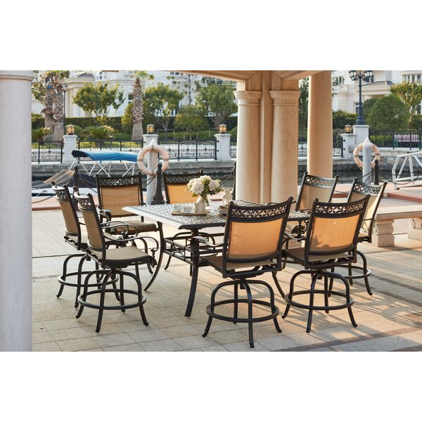 Wabon 9 Piece Counter Height Dining Set by Darby Home Co