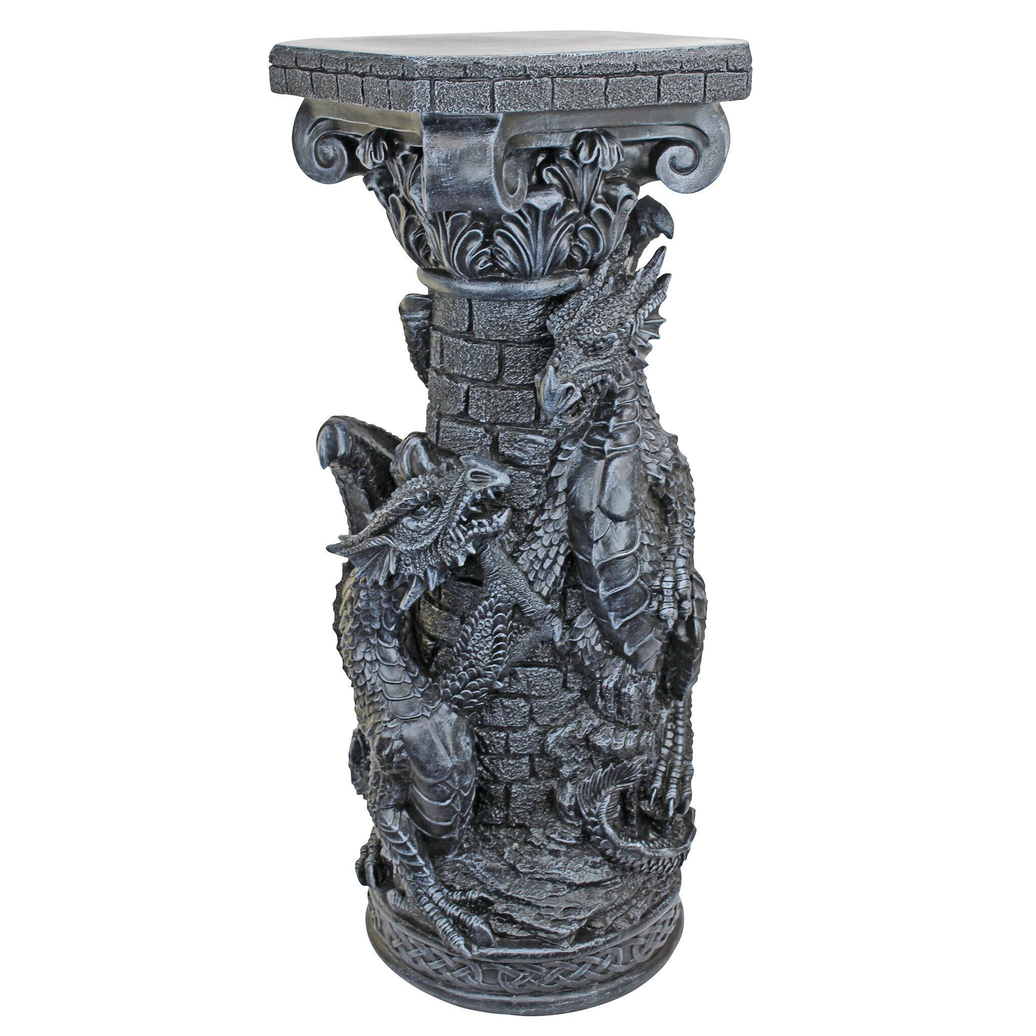 Design Toscano Shadowcrested Tomb Guardians Dragon Chalice