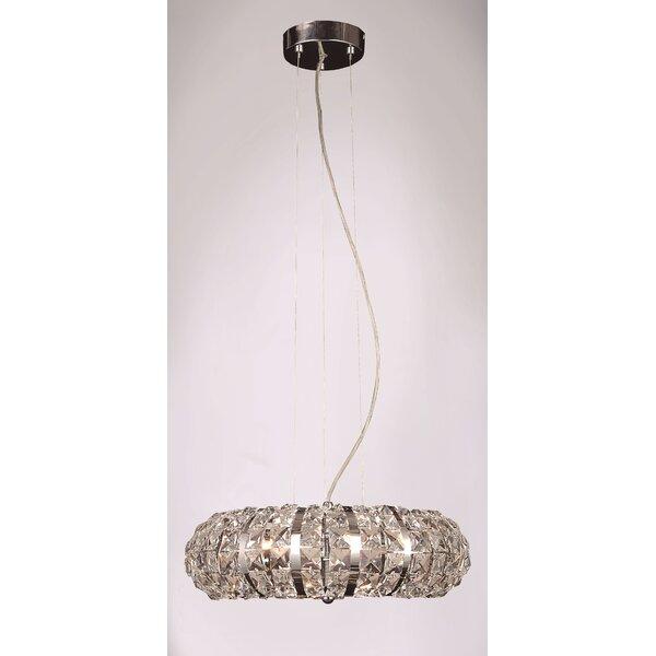 Goldblatt 6-Light Crystal Chandelier by Brayden Studio