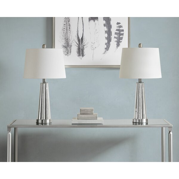 Zakary 24 Table Lamp (Set of 2) by Rosdorf Park