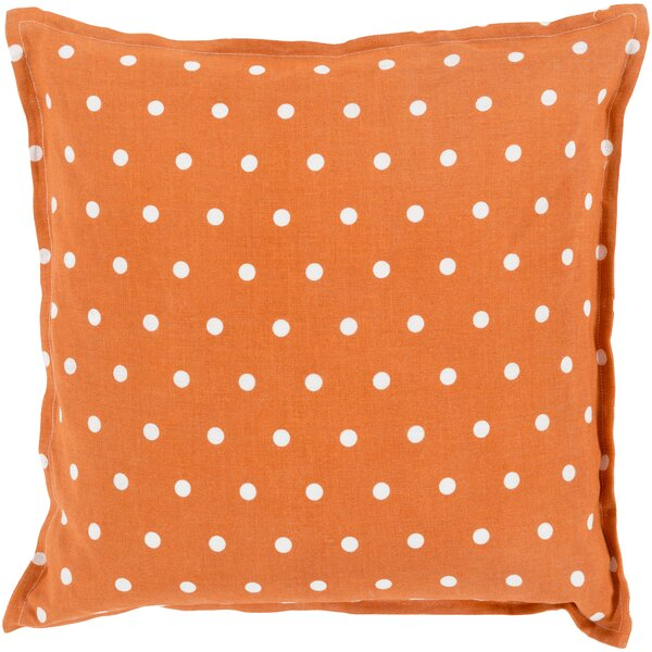Kristen Linen Throw Pillow by August Grove