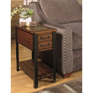Elegant End Table With Storage