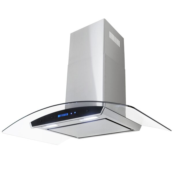 30 400 CFM Convertible Wall Mount Range Hood by AK