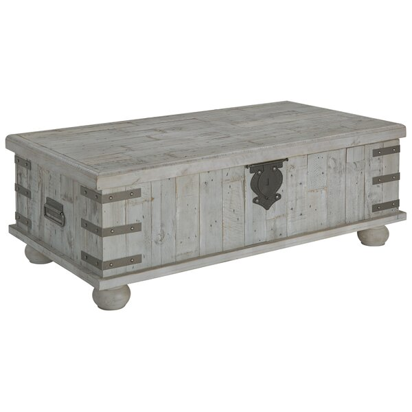 Altair Trunk Coffee Table with Lift Top by Gracie