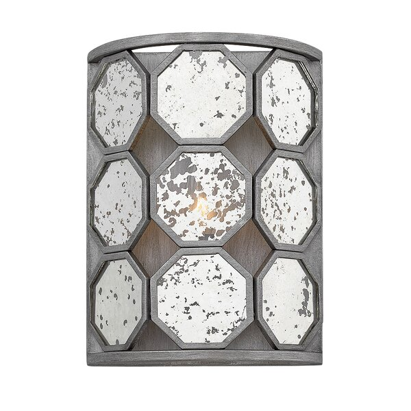 Ny (Bourail) 1-Light Flush Mount by Bungalow Rose