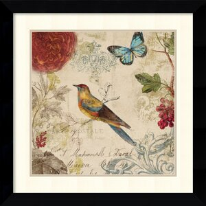 'Nature's Rhapsody' by Aimee Wilson Framed Painting Print by Amanti Art