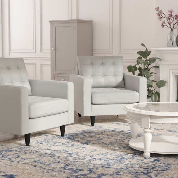 Warren Armchair (Set of 2) by Langley Street