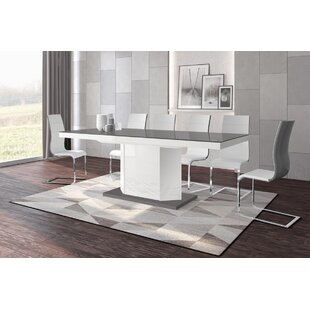 Great choice Borough Storage Extendable Dining Table By Orren Ellis