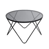 Agustina Cross Legs Coffee Table by George Oliver