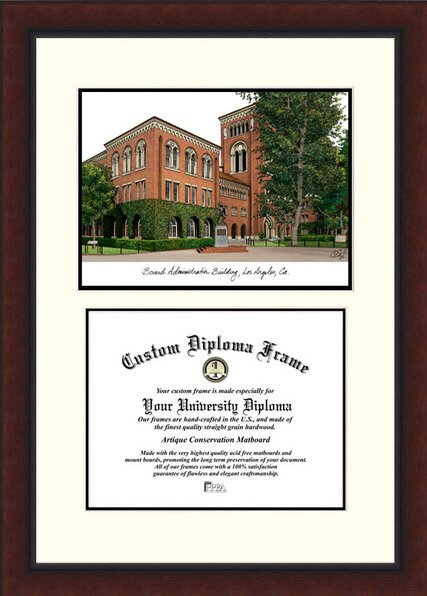 NCAA University of Southern California Legacy Scholar Diploma Picture Frame by Campus Images
