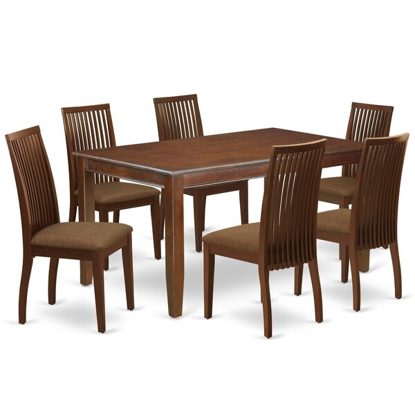 Blarwood 7 Piece Solid Wood Dining Set by Winston Porter Winston Porter