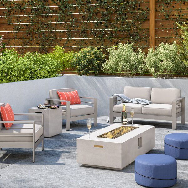 Royalston 5 Piece Sofa Seating Group with Cushions by Brayden Studio