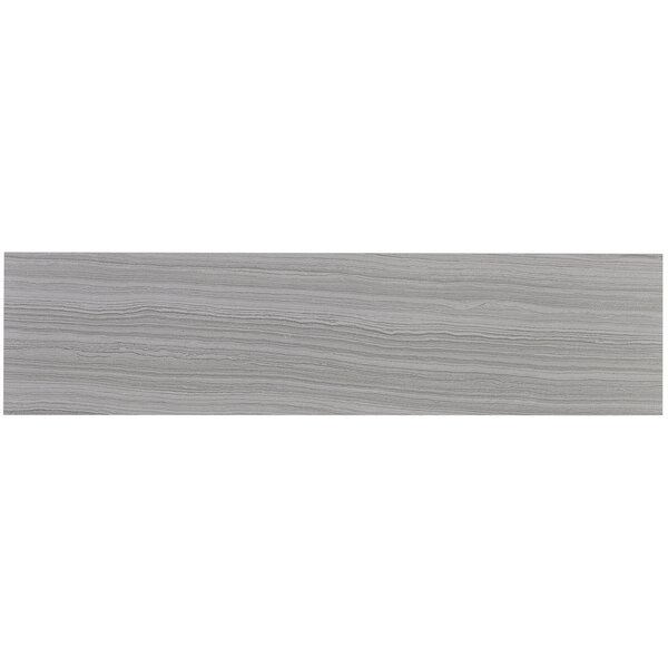 Austin 6 x 24 Porcelain Wood Look Tile in Grigio by Itona Tile