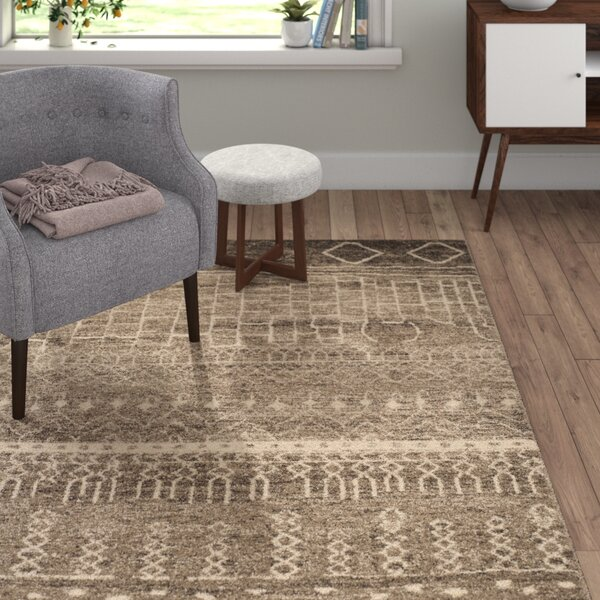 Ximena Brown Area Rug by Langley Street