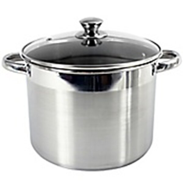 Heuck 16 Quart Encapsulated Stock Pot with Lid by Columbian Home Products