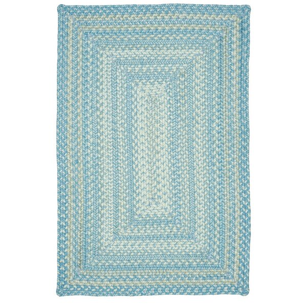 Blue Indoor/Outdoor Area Rug by Homespice Decor