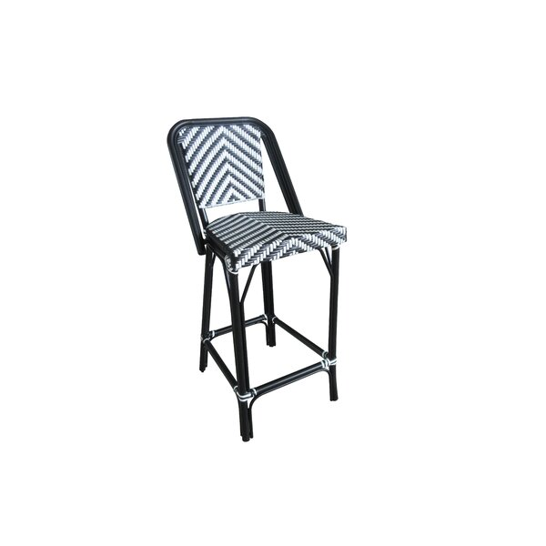 Elser 46 Patio Bar Stool by Breakwater Bay