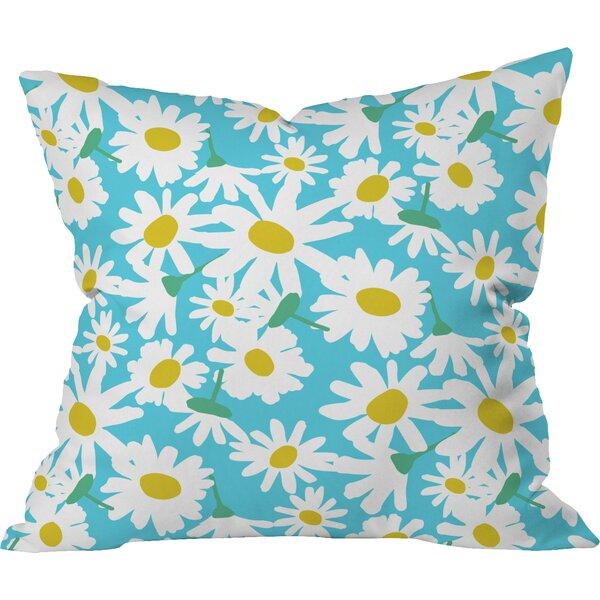 Zoe Wodarz Daisy Do Right Indoor Throw Pillow by Deny Designs