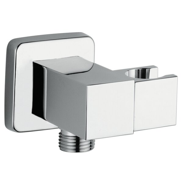Amalfi Square Wall Output with Hand Set Holder by Andolini Home & Design