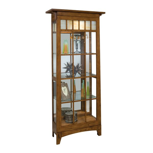 Roycroft Lighted Curio Cabinet by Philip Reinisch Co.