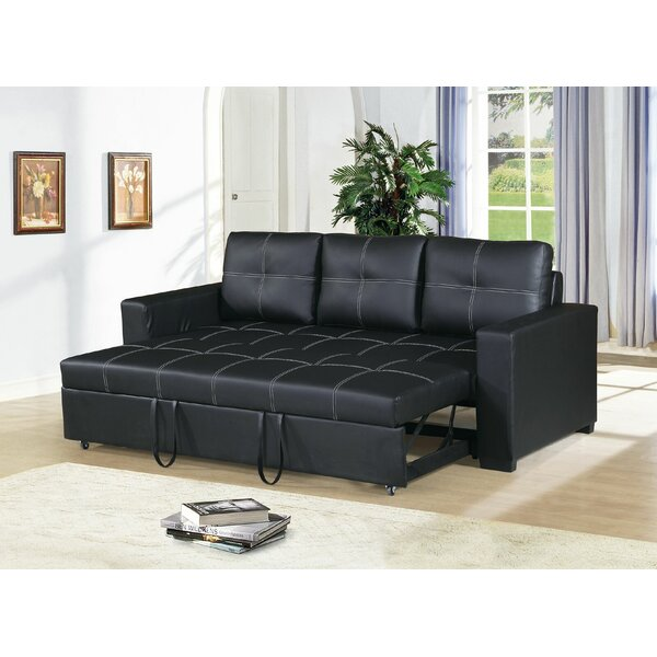 Best #1 Clauderson Convertible Sofa By Latitude Run Great Reviews