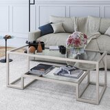 Silver Hammered Coffee Table Wayfair