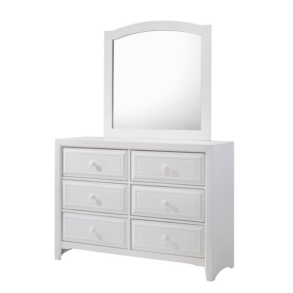 Molimo 6 Drawer Double Dresser by Alcott Hill