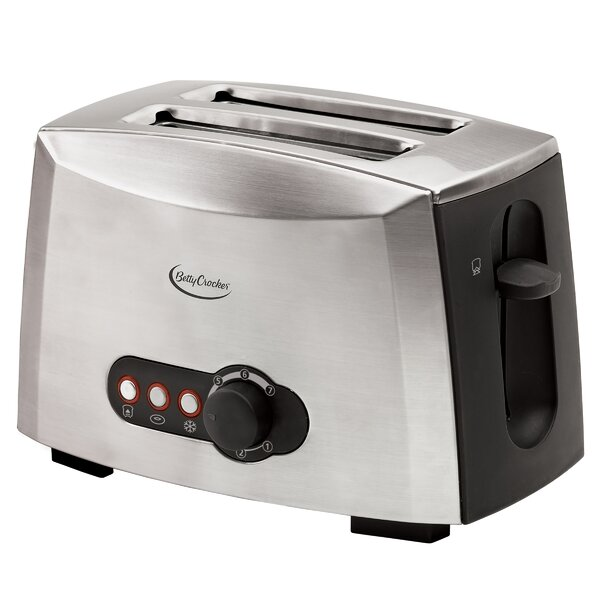 2 Slice Multi-Function Toaster by Betty Crocker