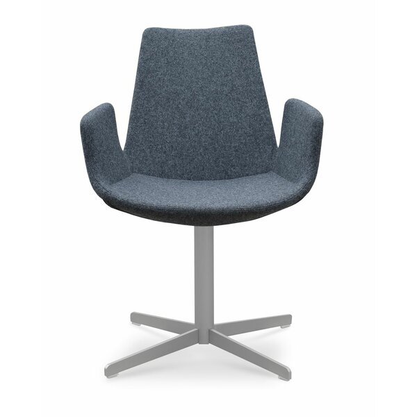 Eiffel 4-Star Swivel Armchair by sohoConcept